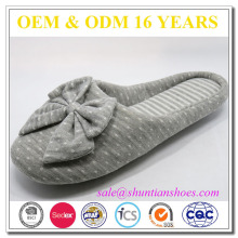 Super soft indoor quiet woman slippers