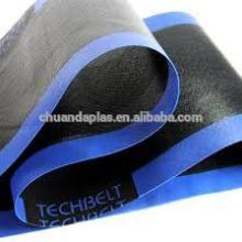 Китай подгонянный низкой ценой тефлоновый ленточный транспортер ленты PTFE с соединением с усилением края