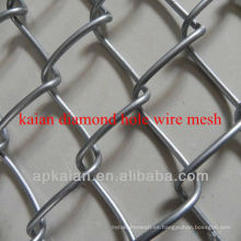 Malla de alambre de forma de diamante
