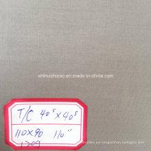"T/C 40s * 40s 110 * 90 110"" tela de algodón del poliester tela/Gery"