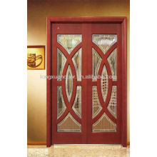 Beautiful Coposited Wood Doors Designs With Glass