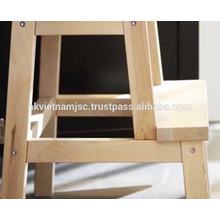 Taburete de madera para niños