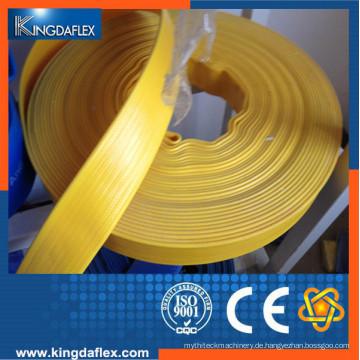 Gute Qualität Hochdruck layflat PVC-Wasserschlauch für die Landwirtschaft Bewässerung