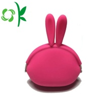 Popular OEM Silicone Coin Purse Mini Dinheiro Bag