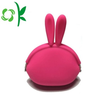Populär OEM Silicone Coin Purse Mini Money Bag