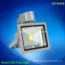 Inducción de alta potencia led luces sensor led inundación ip65 impermeable al aire libre