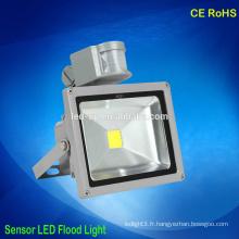 Détecteur de lumières led à induction à haute puissance capteur inondable ip65 imperméable à l'eau extérieur