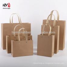 bolsa de regalo de procesamiento de papel kraft al por mayor