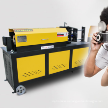 Máquina enderezadora de barra de acero de 4-14 mm