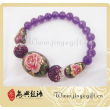 Fashion Flower Beads Bracelet Jewelry Accessories