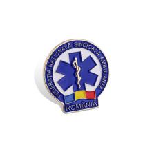 Badge imprimé décalé, badge organisationnel personnalisé (GZHY-YS-040)