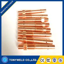 350A mig de soldadura antorcha de cobre titular de la punta de contacto para Panasonic Tipo