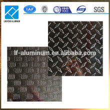 1060 3002 5052 6061 8011Metall-Alu-Aluminium-geprüfte Platte hergestellt