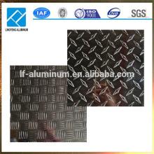 1060 3002 5052 6061 8011 Aleación metálica Aluminio Comprobado Placa Fabricado
