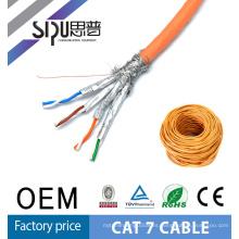 SIPU alta velocidad stp red mejor precio lzsh chaqueta cobre desnudo al por mayor cat7 ethernet cable