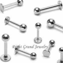 Fábrica de joyería personalizada G23 Titanium Fake Lip Piercings