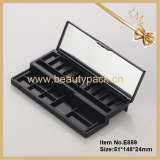 Wholesale empty double layer 21 color eyeshadow palette container
