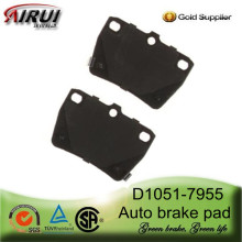 D1051-7955 Rear Brake Pad for 2004 Year Toyota RAV4