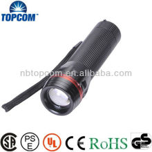 Waterproof Aluminume alloy Cree Led Zoom Flashlight