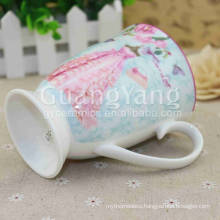 Customized Size Porcelain Enameled Temperature Sensitive Color Changing Mugs