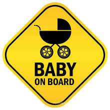 Светоотражающая наклейка в виде ромба Baby On Board