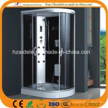 Низкий лоток 120 * 80 см 4 мм матовая стеклянная душевая комната Adl-8310L / R