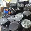 Round/Square Shape Off-cuts Black Steel Wire Cloth Filter