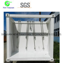 Compressed Natural Gas High Pressure Container Semi-Trailer