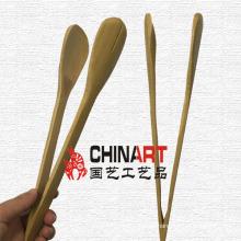 Pinzas de bambú puramente naturales