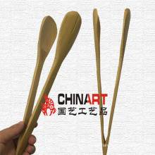 Purely Natural Bamboo Tongs