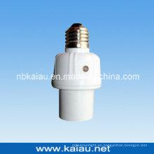 Control de la luz del sensor de la noche del día Soporte de la lámpara del sensor de la fotocélula (KA-SLH07)
