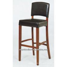 Ручной деревянный стул для стульев с высоким PU-стулом XYH1005