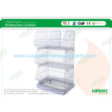 Mesh Pallet Wire Cage Basket Container Storage Powder Coated Hbe-mc-12