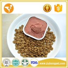 El perro de la exportación de la comida de perro puede tratar el alimento del perro conservado del sabor del pollo
