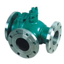 Electric Operated 3 Way Stainless Steel Ball Valve