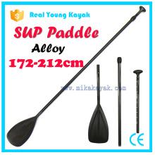 3 piezas ajustable de aluminio pad paddle kayak accesorios