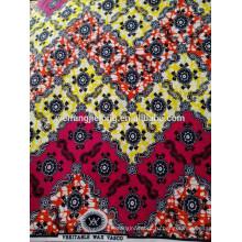 лот 100% хлопка Африканская ткань воска печать дизайн