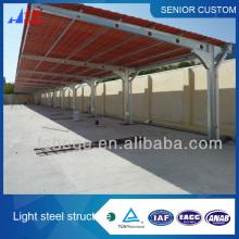 New type fashionable carport.mobile carport,steel structure carport