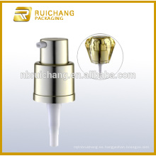 16mm crema loción bomba con sobrecapa de diamante