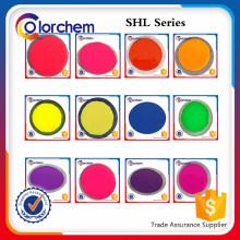 Wasserbasiertes fluoreszierendes Pigment SHL