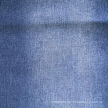 100% algodão índigo denim tecido