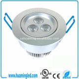 3W RoHS CE UL Listed Led Downlight With Dimmer