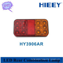 12v Caravans trailer tail light truck tail lamp waterproof rate IP67 tail lamp for truck