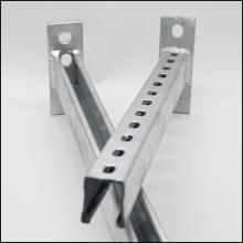 Suportes de ar condicionado galvanizados para montagem em metal