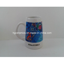 Keramik Bierkrug