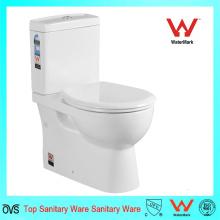 Dos piezas de porcelana sanitaria Armarios de agua Dos piezas de cerámica WC