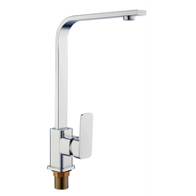 Square Brass Kitchen Faucet Mixer Tap