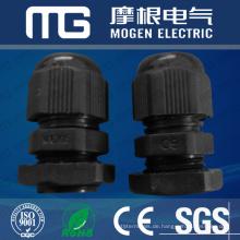 Waterproof Nylon66 pg Kabelverschraubung mit verschiedenen Gewindegröße, flache Waser, CE-Zulassung