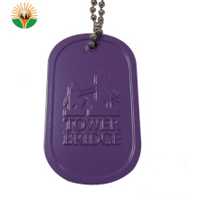 Best Selling Aluminum Dog Tag with Necklaces
