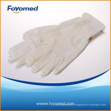 CE, ISO Aprobado guantes de examen de látex de venta caliente